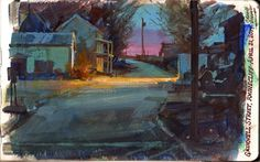 Gurney-Reise: Grinnell Light The post Gurney-Reise: Grinnell Light appeared first on Kunst. Nocturne, Gouache Painting, Painting & Drawing, Landscape Art, Landscape Paintings, Posca Marker, Guache, Traditional Paintings, Environmental Art