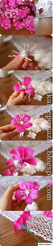 DIY Chocolate Gerbera Flower Bouquet | iCreativeIdeas.c… na Stylowi.pl