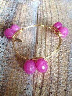 Double Pink Ball Bourbon and Boweties  bangle $32 and FREE SHIPPING available at www.facebook.com/twocumberland or Instagram: two_cumberland