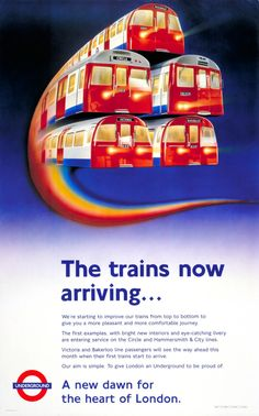 We'd hate to imagine what London would be like without the tube, and these vintage posters remind us how good it actually is. Our underground train.