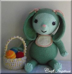 Pot Belly Baby Bunny free pattern, so cute, loving bunnies currently: thanks so for kind share xox