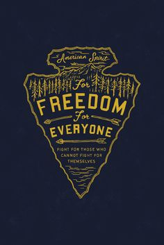 Let this illustration inspire you to fight for those who cannot fight for themselves. Each year, thousands of young girls are forced into sex trafficking in the U.S. and can only dream of a future of freedom. The arrowhead in this design reminds us to move forward, defend others, and adopt the American spirit of freedom for everyone!