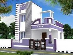 House Front Wall Design, House Balcony Design, Single Floor House Design, House Outside Design, Village House Design, Kerala House Design, Bungalow House Design, Small House Design, Front Elevation Designs