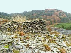 Slate quarry near Aberfoyle by Eleanor Miller