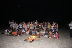 Fogon en Campamento Regional Scout  Uruguay 2012 - Homenetmen