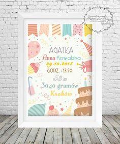 Metryczka_1 Kids And Parenting, Frame, Handmade, Home Decor, Picture Frame, A Frame, Craft, Interior Design, Frames