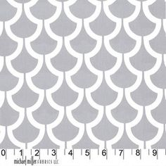 Trenna Travis - Bekko - Billow in Slate -- I'm thinking of using this for cushions on a bright green bench.