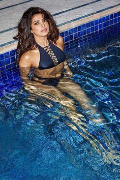 Priyanka Chopra Hot Photoshoot In Swimming Pool, Priyanka Chopra Photoshoot in Swimming Pool, Priyanka Chopra abc upfront dance