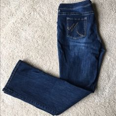 """Maurice's Bootcut jeans size 15/16 Long Medium/dark wash Bootcut jeans from Maurice's size 15/16 Long in excellent condition. Inseam is 35"""" long. Maurices Jeans Boot Cut"""