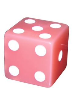 2 In Light Pink Dice