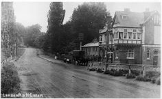 The Lord Nelson Inn, taken about 100 or so years ago, when Cheam was still countryside.