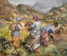 Verwaai Paintings I Love, Oil Paintings, South African Artists, Painting People, Art Oil, Faeries, Mind Blown, Light In The Dark, Things To Come