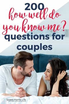 Check out this fun list of 200 how well do you know me questions that are perfect for your next date night or couples quiz!