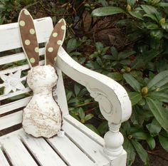 Brown Central Park Toile Bits The Bunny Plush Rattle
