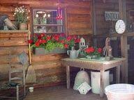 primitive porches - Google Search