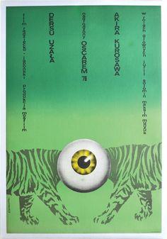 Dersu Uzala (Akira Kurosawa, 1975) Polish design by Bozena Jankowska