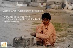 Qudsia Ghat - Community Interaction