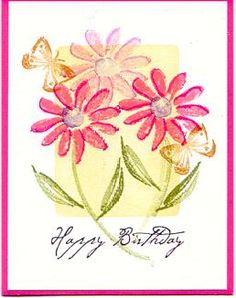 watercolor garden by rsdreyer - Cards and Paper Crafts at Splitcoaststampers