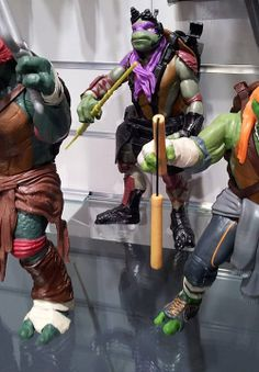 New Look at the TMNT action figures!! | Moviepilot