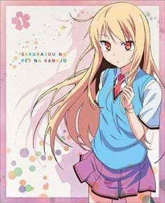 Sakurasou no Pet na Kanojo Character Song Mashiro Shiina Mashiro Shiina, Otaku, Anime Furry, Cute Anime Character, Female Anime, Romance, Manga, Anime Shows, Kawaii Anime
