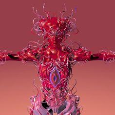 Avatar, Unusual Art, 3d Artwork, Psychedelic Art, Aesthetic Art, Retro, Art Sketches, Art Inspo, Fantasy Art