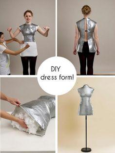 d.i.y. dress form