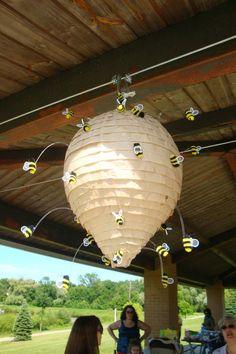 Bee Hive Pinata - My last one