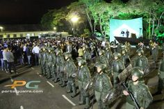 Guaíra – Exército Brasileiro realiza formatura alusiva ao 'Dia da Infantaria'