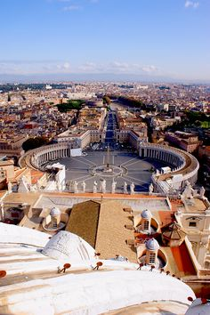 View of Piazza del Vaticano, Rome