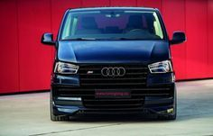 Can you still remember the VW bus as an Audi With headlamps from the Audi Avant, Audi Allroad, Audi Rs6 C7, Audi A5, Vw Caravelle, Volkswagen Touran, Vw T4 Tuning, Vw Transporter Van, T5 Bus, Nissan Terrano
