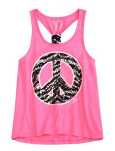 Justice Clothes for Girls Outlet | ... Knot Back Tank | Girls Dancewear Clothes | Shop Justice on Wanelo
