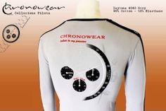 POLO CHRONOWEAR ROLEX DAYTONA 6263 Silver  - infos: info@chronowear.it