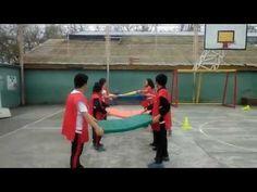 13 juegos de cooperación por equipos