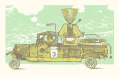 """DAY 128    """"Coffee Roaster Mobile"""
