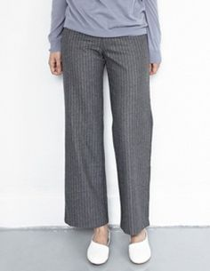 Today's Hot Pick :Striped Woolen Trousers http://fashionstylep.com/P0000VCJ/vivaglam7/out High quality Korean fashion direct from our design studio in South Korea! We offer competitive pricing and guaranteed quality products. If you have any questions about sizing feel free to contact us any time and we can provide detailed measurements.