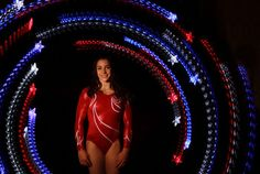 Alexandra Raisman, USA, is considered one of the top 10 gymnasts in the world, and is one to watch at the 2012 London Olympics