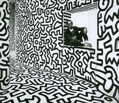 keith haring art black and white - Google Search