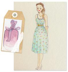 Fashion Illustration - Ricci Ricci, Nina Ricci