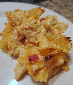 Emeril's mac and cheese with bacon