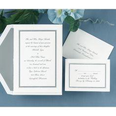 Appealing Borders - Invitation | Ann's Bridal Bargains
