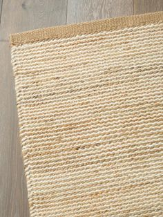 The Natural & White, Drift Weave Floor Rug by Armadillo is hand woven under Fair Trade conditions in India. Made from Hemp, Wool. Available Sizes• 0.9 (W) x