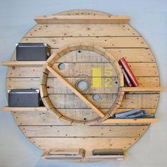 Repurposed shelving unit # 152 by L'estoc. Photo by Jordi Roy