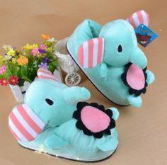 Leecos Winter Cute Elephant Plush Cartoon Slippers Free Size Blue Leecos,http://www.amazon.com/dp/B00GTEKM2W/ref=cm_sw_r_pi_dp_RbeSsb11X2BZSKZ2