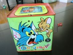Vintage 1965 Mattel Tom Jerry Jack in The Box Classic Toy | eBay