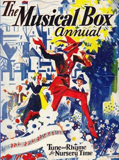 The Musical Box Annual 1936 Music Education Activities, Book Activities, Toddler Circle Time, Music Drawings, Festival Camping, Music Party, Music Wallpaper, Book Illustration, Nursery Rhymes