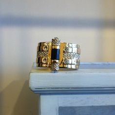 **The Joy of Life** My pin clasp bracelet Available at Neimanmarcus Bracelet Clasps, Bracelets, Joy Of Life, Rachel Zoe, Her Style, Neiman Marcus, Class Ring, Jewelry Accessories, Rings For Men