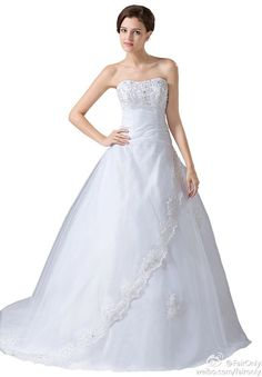 FairOnly New Straples Weeding Dress Bridal Gown Size6 8 10 12 14 16 18 20+Custom
