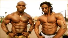 Super Street Workout Collabo - 7 Minutes of Madness!!! - Prophecy Workout & Supreme Akeem ripped with bodyweight and freestyle pumped from the ground up...massive, natural, insane, bring on the beasts...