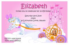 17 best birthday invitation images on pinterest invitation ideas invitation cards for birthday party free stopboris Gallery