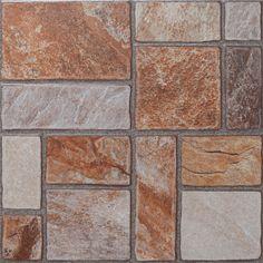 Piso Liquen Piedra 33x33 #casa #interiores #pisos #decoración #hogar #revestimiento #baño